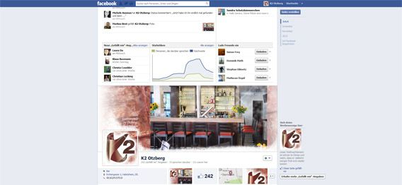 K2 Facebook Gewinnspiel