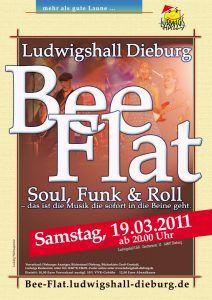 Poster Ludwigshall BeeFlat