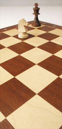 Schachbrett im Orginal