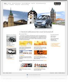 Smart Darmstadt Webseite