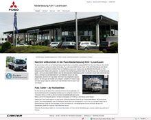 Webseite Fuso Frechen Köln